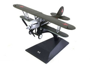 Polikarpov I-3 Soviet Biplane Fighter 1929 Year 1/87 Scale Legendary Aircraft