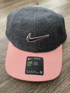 Nike Women's Heritage 86 Floral Golf Adjustable Hat Cap CT0173-032 $28