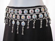 Unique Handmade Tribal Belly Dance Coin Tassel Belt Ats Skirt Costume Jewelry