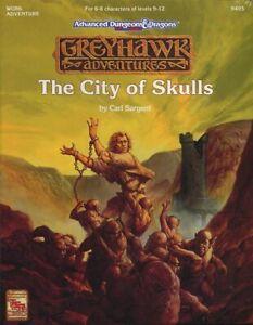 WGR6 GREYHAWK THE CITY OF SKULLS SEALED Shrink Dungeons Dragons D&D Module TSR