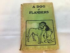 A Dog of Flanders by Louisa de la Ramee plus 2 Other Stories,1926 Saalfield HC