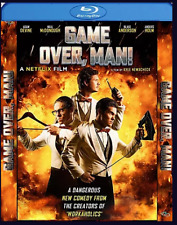 Game Over, Man! [Blu-ray] Region Free / Ship worldwide