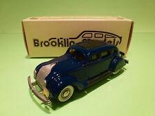 BROOKLIN MODELS BRK 7 CHRYSLER AIRFLOW 4-DOORS 1934 - 1:43 - NEAR MINT IN BOX