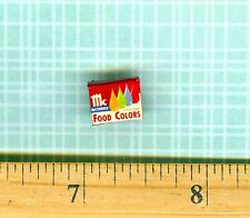 DOLLHOUSE Miniatures Size Food Color Box