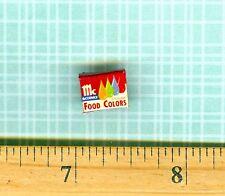 DOLLHOUSE Miniatures Size Food Color Box