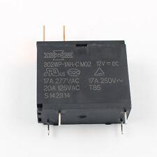 1Pcs New Miniature PCB Power Relay SONG CHUAN 302 302WP-1AH-C M02 12VDC