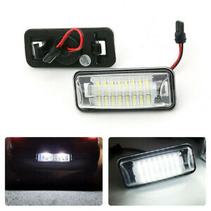 LED Number Plate Lights For Subaru Forester Impreza WRX STI XV Crosstrek Legacy