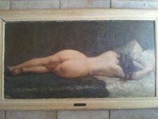 Tableau Peinture H.S.P Louis Azéma Nue de Lucienne Paris H.C. - 27c711