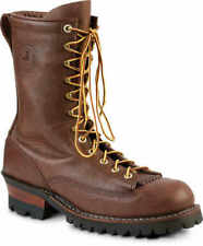 Brown Size 10D White's Boots Hathorn Explorer Lace-to-Toe Logger Boot