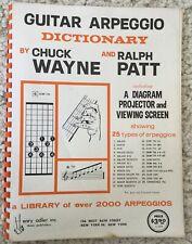 Vintage Chuck Wayne Guitar Arpeggio Dictionary Instruction Book