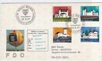 switzerland balloon post stamps cover  ref 7680