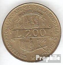 Italy km-number. : 184 1996 Stgl./unzirkuliert Aluminum-Bronze Stgl./unzirkulier
