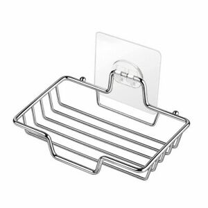 Case Non-slip Rapid Drainage Stainless Steel Soap Holder Soap Dish Storage Rack
