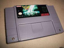 The Legend of Zelda Parallel Worlds Snes Super Nintendo RPG New battery Holder