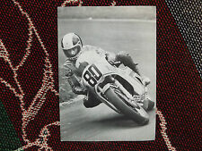 "DAVE POTTER - BP MOTORCYCLE POSTCARD - 750cc YAMAHA 750D SUPERBIKE - 7"" x 5"""