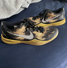 Kobe 8 Sulfur Electric Black And Yellow Size 12