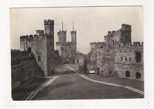 Caernarvon Castle From Upper Ward 1962 RP Postcard 599a