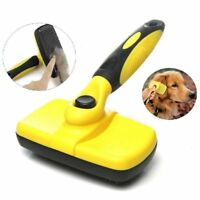 Pet Grooming Brush, Self-Cleaning Slicker Brushes, Best Shedding Tools For I2B8