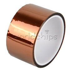 50mm 5cm 30M Kapton Tape Sticky High Temperature Heat Resistant Polyimide