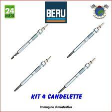 Kit 4 candelette Beru MERCEDES T2/LN1 814 811 809 711 709 609 VARIO 818 815 813
