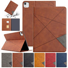 "For iPad 7th 10.2""/Mini/Air/9.7 6th 5th/Pro 11/12.9 4th Smart Leather Case Cover"