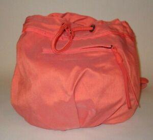 LULULEMON DIVERSITY BAG WANDERLUST CAPE RED WHITE DRAWCORD YOGA LOUNGE EUC O/S