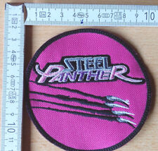 STEEL Panther-logo embroidered patch Motley Crue Reckless Love Crashdiet