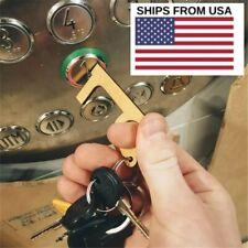 Portable Hygiene Hand Antimicrobial Door Opener Elevator Handle Key USA Seller