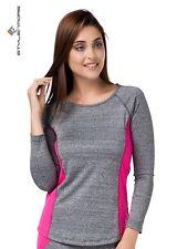 Extra leichte Damen-Langarm-Tops im Funktionswäsche keine Mehrstückpackung