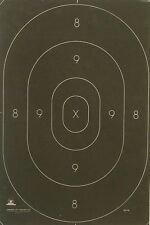 "Official NRA B-27C silhouette target centers [12-3/8"" x 18-1/2""] (250 B27C)"