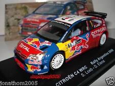 CITROËN C4 WRC ARGENTINA 2008 LOEB - ELENA en el 1/43°