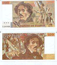 Gertbrolen 100 FRANCS EUGENE  DELACROIX de 1984   D.75 Billet N° 1853726988