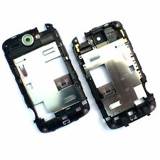 100% Genuine HTC Wildfire G8 rear chassis+camera glass cover+flash lens Black A