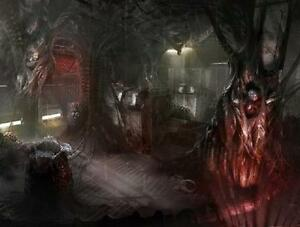 Alien Hive Interiors 25/28mm scale Sci Fi/Space Hulk Multi Listing