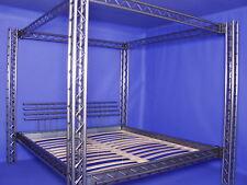Himmelbett Bett Metallbett Eisenbett Modell 4P/3P 160x220cm