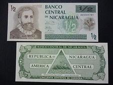 NICARAGUA BANKNOTE 50 Centavos, Pick 171  UNC  1991