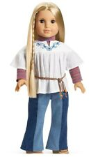 American Girl Pleasant Company DOLL JULIE In MEET OUTFIT Blonde Hair BOOK AG BOX
