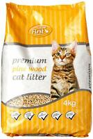 4kg Bag Premium Pine Wood Cat Kitty Litter Antibacterial Natural Odour Control