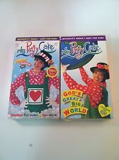 Lot of 2 Brand New VHS Tapes - Miss Patty Cake - God's Great Big World - Sing