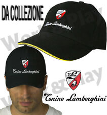 Cappello Berretto Cotone Uomo Original Baseball Nero Regolabile Snapback Italia