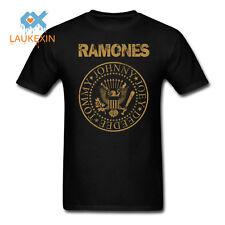 The RAMONES T-shirt Vintage Punk Rock Classic Logo Adult Mens many colors tshirt