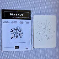 Stampin Up / Sizzix Tiefen  Prägeform Wunderblume; Papier Geteilte Leidenschaft
