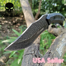 High Hardness 5Cr13 Fixed Blade Combat Camping Survival Tactical Bowie Knives