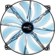200Mm Aerodynamic Fan Blade Design To Minimize Turbulent & Noise Quad Blue
