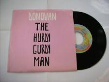 "DONOVAN - THE HURDY GURDY MAN - 7"" REISSUE VINYL NEW UNPLAYED"