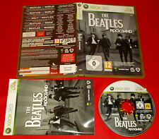 THE BEATLES ROCKBAND XBOX 360 Rock Band Versione Italiana 1ª Ed ○ COMPLETO - FG