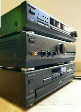 Technics Hi-Fi ST-GT550 Tuner~SU-A700 Mk3 Mos Class AA Amp~SL-PD687 5 CD Player