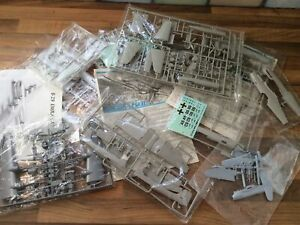 JOB LOT of MODEL MILITARY AIRCRAFT KITS - Not Complete - Spares