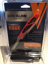 Havalon Piranta Edge razor blade knife skinning hunting caping fishing deer fox