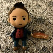 NWT Dean Winchester Supernatural Q-Pal Q-Pals Plush Figure Quantum Mechanix